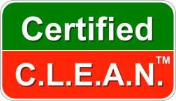 Certified C.L.E.A.N.